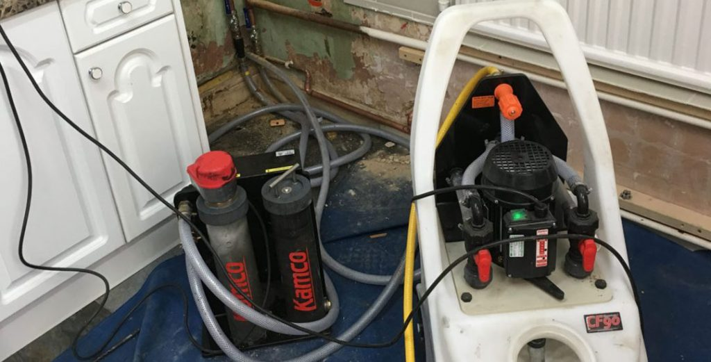 Power Flushing of Heating Systems