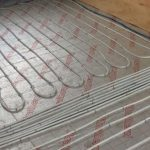 New Build Underfloor Heating